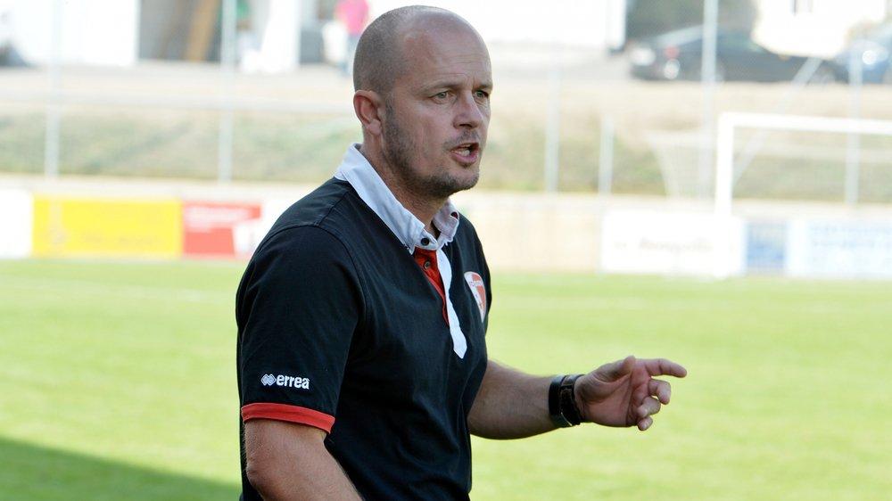 Cédric Strahm a notamment entraîné les M21 du FC Sion.