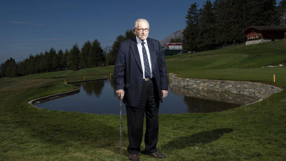 Gaston Barras a contribué à démocratiser le golf sur le Haut-Plateau et dans toute la Suisse.
