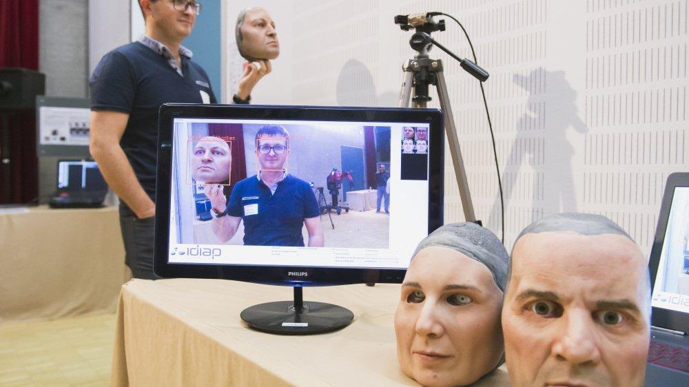 L'intelligence artificielle développée à l'Idiap permet notamment pour un ordinateur de faire la différence entre un masque perfectionné et un véritable visage, grâce à de nombreux paramètres, comme la répartition de la chaleur sur le visage.