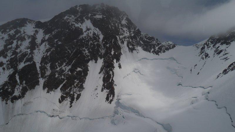 L'alpiniste se trouvait près du sommet de la Pointe Dufour lorsqu'il a chuté.