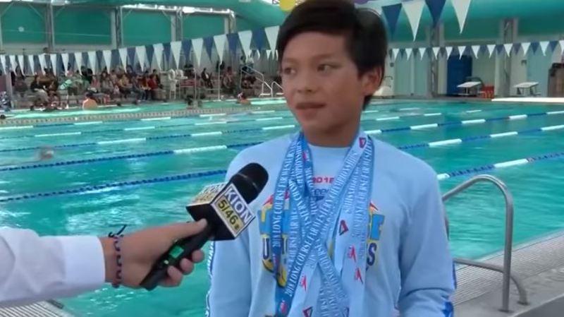 Natation: un Américain de 10 ans bat un record détenu pendant 23 ans par Michael Phelps
