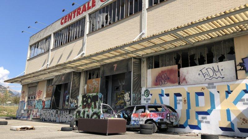 Sion: l'ancienne centrale Magro laissée à l'abandon devrait être bientôt démolie