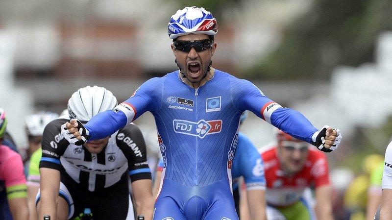 Nacer Bouhanni a remporté l'étape au sprint.