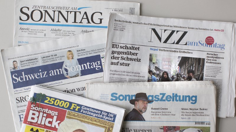 Les journaux de ce dimanche révèlent la recrudescence des faux documents d'identité sur les chantiers suisses.