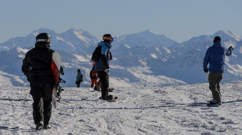 Sport et alcool: un snowboarder suisse sur cinq boit pendant son activité sportive