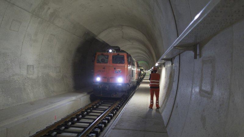Tunnel du Gothard: les CFF doivent continuer à investir pour l'entretien de l'ouvrage