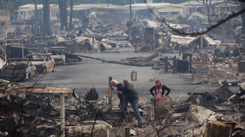 Etats-Unis: la Californie en proie au plus grand incendie de son histoire