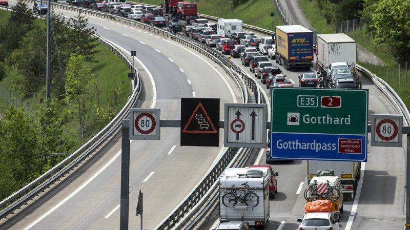 Tessin: le tunnel du Gothard rouvert après l'incendie d'un camion sur l'A2
