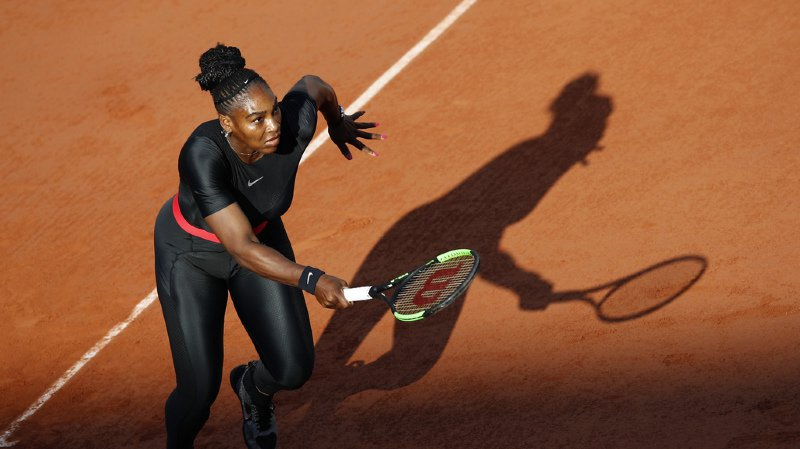 Tennis – Roland-Garros: le président de la Fédération française ne veut plus de la combinaison noire de Serena Williams