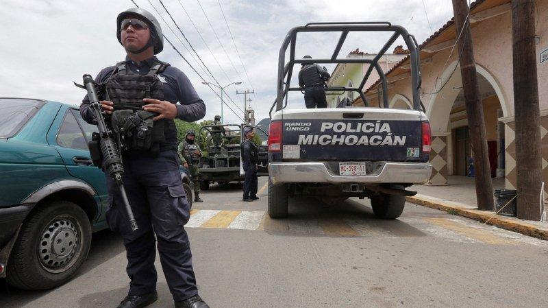 Mexique: plus de 200 agents de police arrêtés pour lutter contre la criminalité