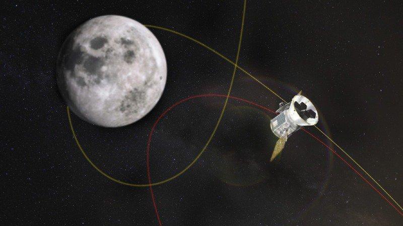 NASA: des scientifiques confirment la présence de glace à la surface de la Lune