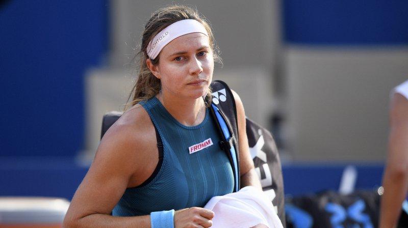Stefanie Vögele n'a pas existé au 1er tour de l'US Open.