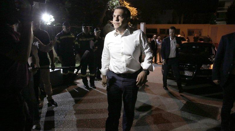 Le Premier ministre Alexis Tsipras s'est rendu lundi matin à Mati et Rafina, ont annoncé ses services.
