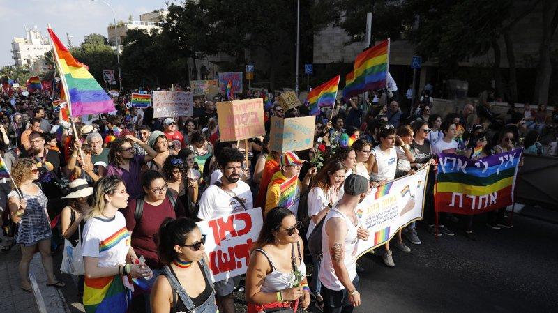 Israël: des milliers de personnes ont participé à la Gay Pride de Jérusalem