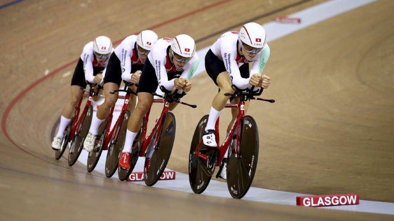 Cyclisme - Championnat d'Europe: l'équipe suisse de poursuite remporte la médaille d'argent