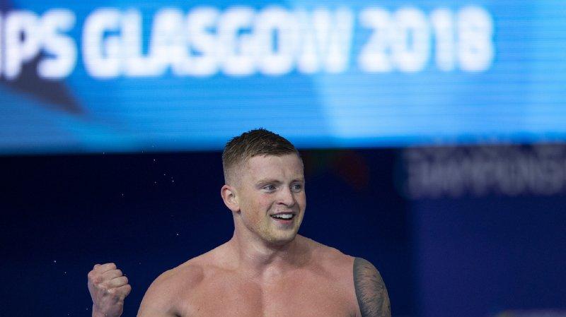 Natation - Championnats d'Europe: Adam Peaty améliore son record du monde