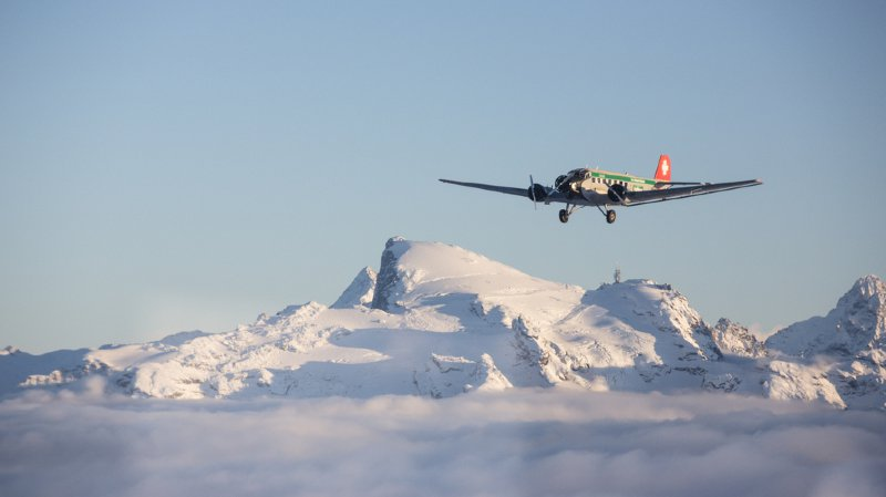 Grisons: le crash d'un avion historique pourrait avoir fait jusqu'à 20 morts