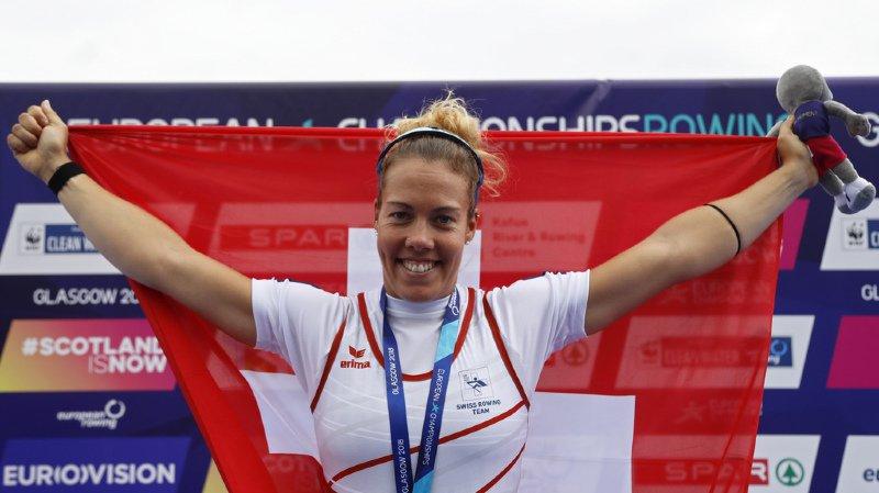 Aviron: quatre médailles européennes pour la Suisse, dont deux en or avec Gmelin et Schmid