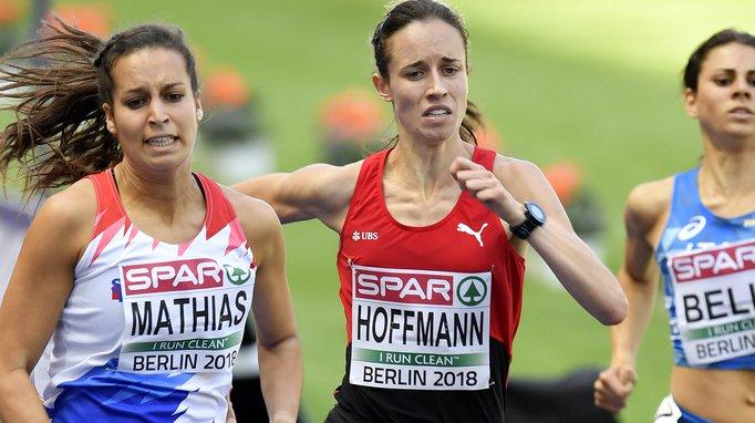 Lore Hoffmann a signé un nouveau record personnel (2'02''23) pour prendre la 3e place de sa série.