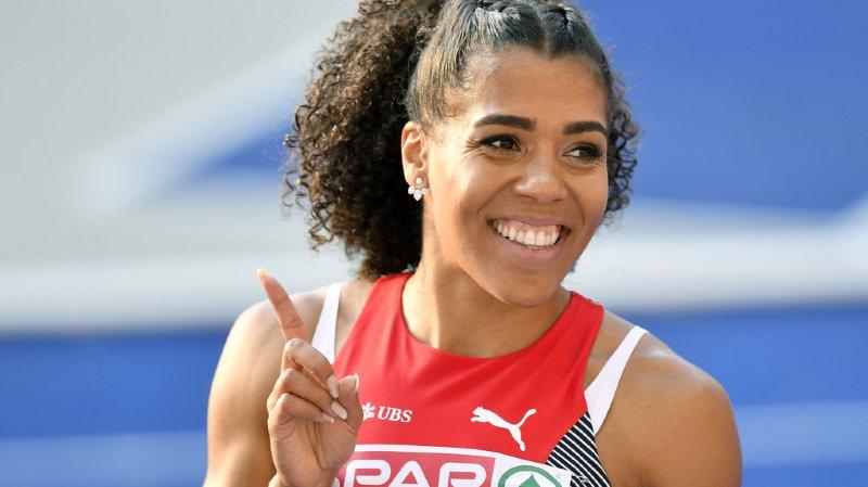 Européens de Berlin - finale du 100m: la Bernoise Mujinga Kambundji termine au pied du podium