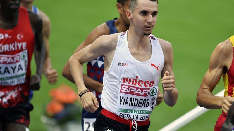 Julien Wanders 9ème à la finale du 5000m