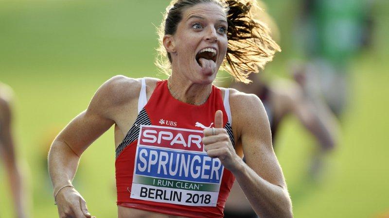 Athlétisme - Championnats d'Europe: Lea Sprunger se qualifie facilement pour la finale du 400 m haies