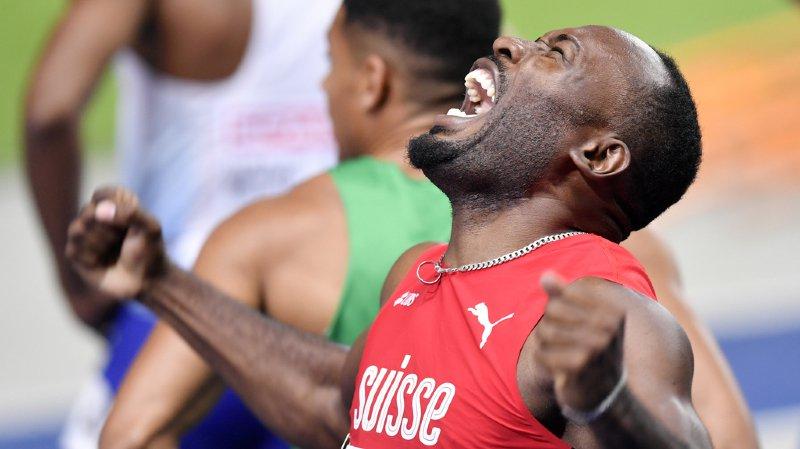 Européens de Berlin: le Suisse Alex Wilson décroche le bronze du 200 m!