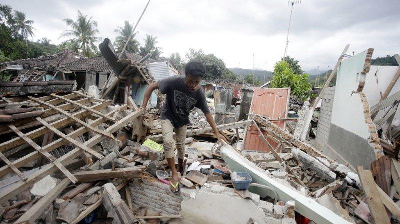 Indonésie: l'île de Lombok secouée par deux nouveaux séismes