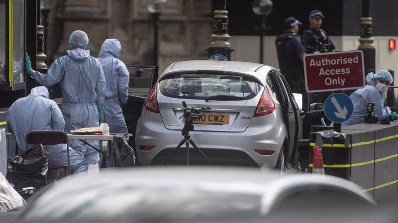 Londres - attaque à la voiture-bélier: le suspect identifié
