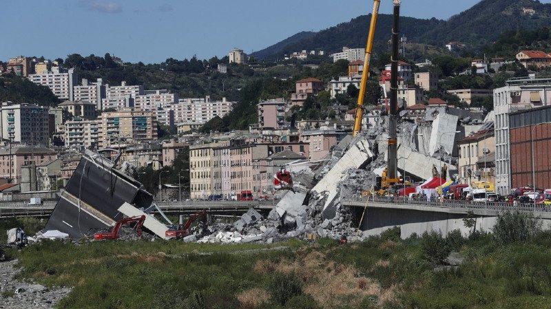 Italie: le drame de Gênes illustre la vétusté des infrastructures du pays