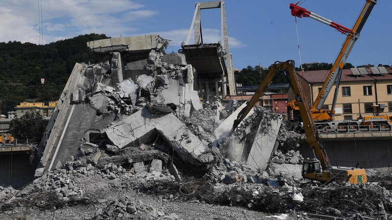 Pont effondré à Gênes: les trois derniers corps portés disparus retrouvés