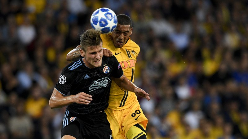 Football - Ligue des champions: 1 à 1 entre Young Boys et Dinamo Zagreben match aller
