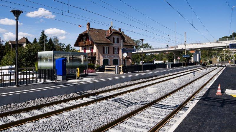 CFF: fin des travaux et retour à la normale sur le trafic régional entre Lausanne et Puidoux-Chexbres