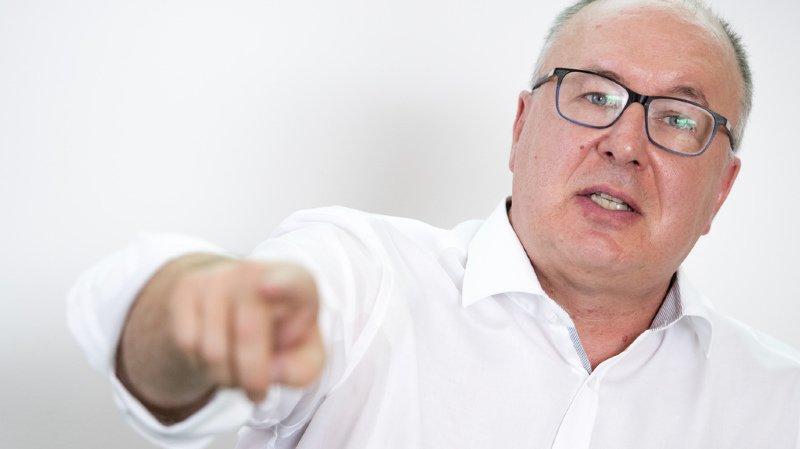 La candidature du conseiller d'Etat Pierre-Yves Maillard a été officialisée mardi par Unia.