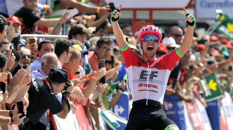 Cyclisme: Tour d'Espagne: Molard se pare de rouge, Clarke remporte l'étape