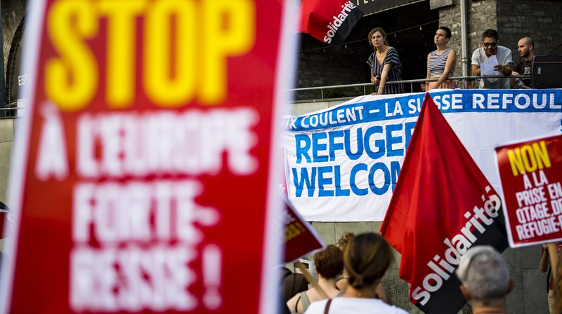 Migrations: rassemblements à Genève et Lausanne contre la politique d'asile