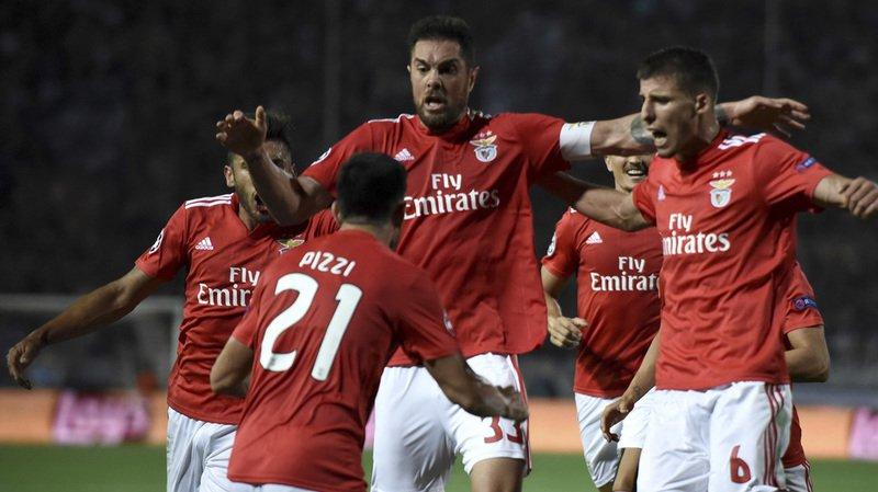 Football - Ligue des champions: Benfica et Seferovic en phase de groupes