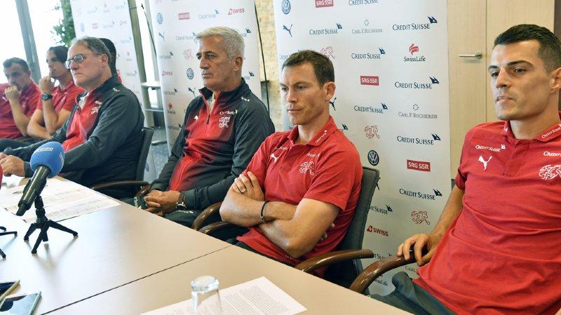 Football: Xhaka, Shaqiri et Lichtsteiner s'excusent pour l'aigle bicéphale et assurent que ça ne se reproduira plus