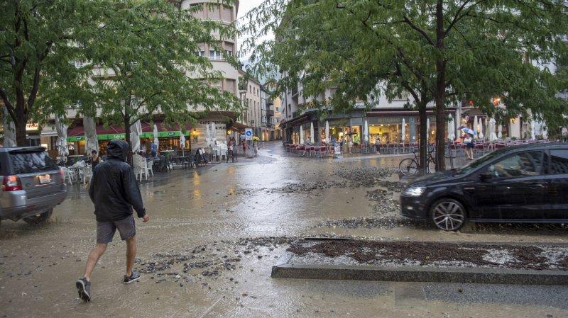 Les intempéries du 6août engendrent 200000francs de dégâts pour la municipalité de Sion