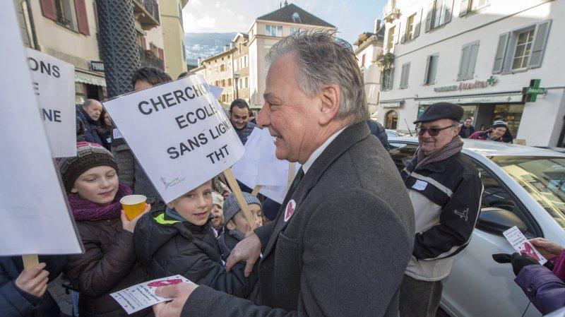 Ligne THT Chamoson-Chippis: des opposants manifesteront devant le Grand Conseil