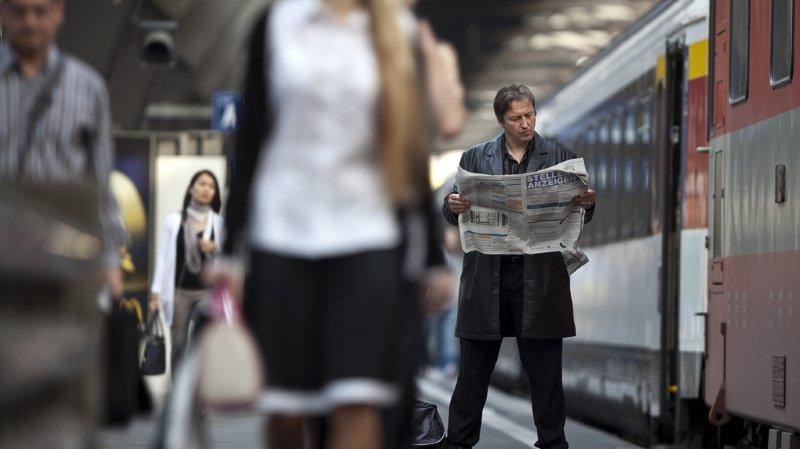 Marché du travail: la Suisse compte 4,6% de chômeurs, en comptant les non inscrits à l'ORP