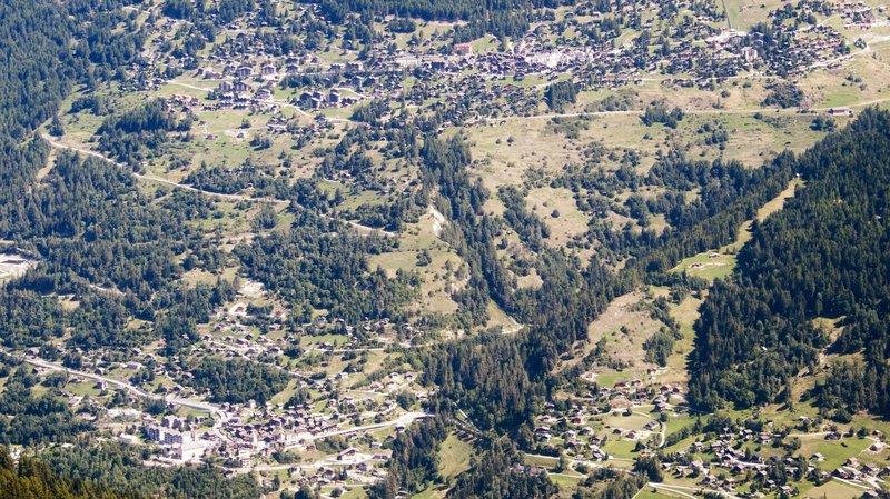 LAT: Anniviers gèle 100 hectares de zones à bâtir