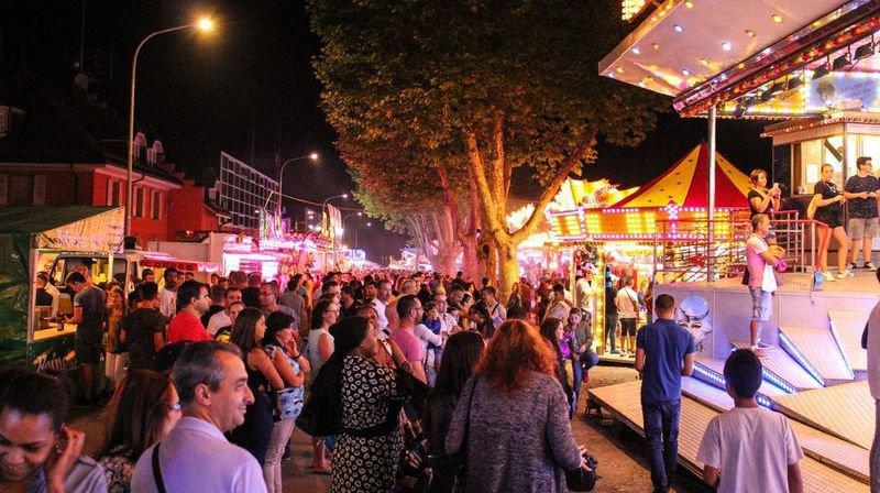 Avec plus de trente attractions, le luna park sera fidèle au rendez-vous du côté des Glariers.