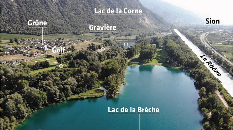 Granges: au lac de la Brèche, on nage en plein paradoxe