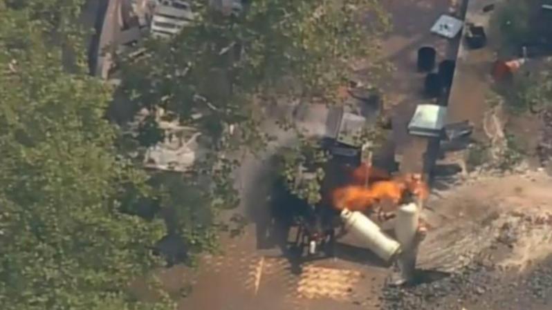 New York: la Statue de la Liberté évacuée après un incendie sur un chantier voisin