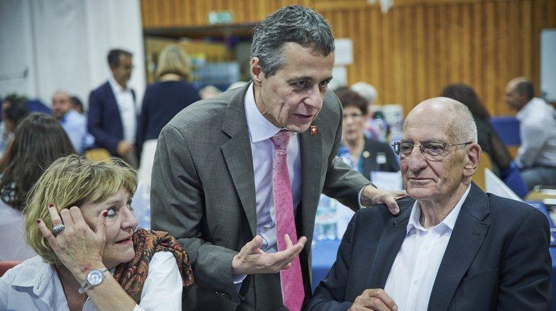 """Ignazio Cassis: """"L'histoire de mon élection commence en Valais"""""""