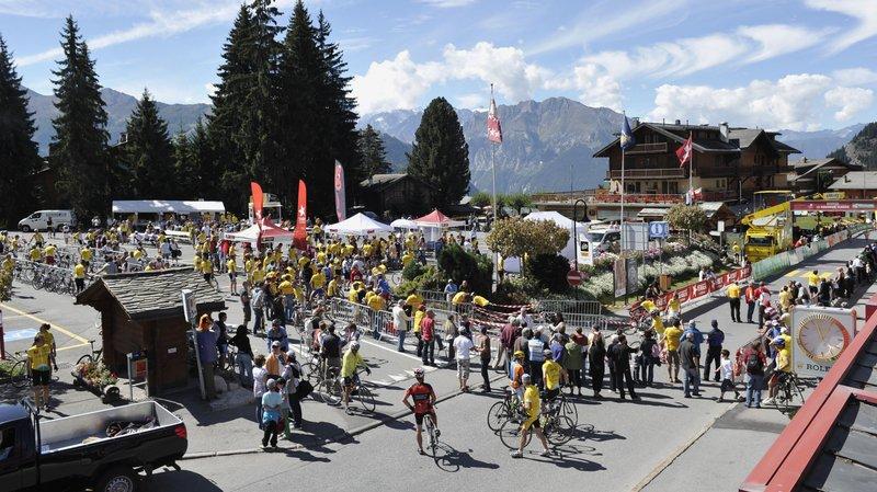 Verbier avait déjà accueilli la Romandie Classic au début des années 2010.