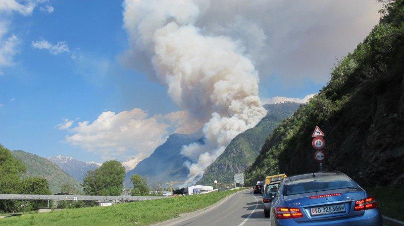 En 2011, un important incendie de forêt a causé d'importants dommages au-dessus de Viège. D'importantes mesures ont été prises pour ne pas revivre un tel scénario.