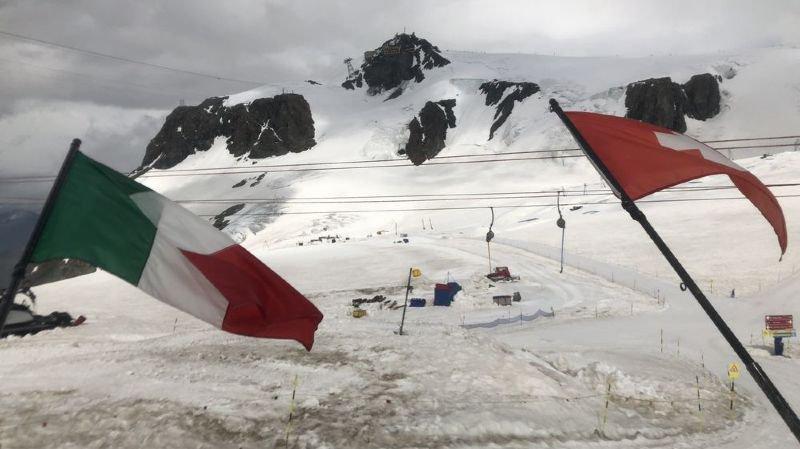 En fondant, les glaciers tendent à fixer les frontières du Valais