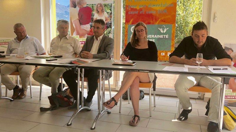 Les partisans des initiatives agricoles ont présenté leurs arguments.